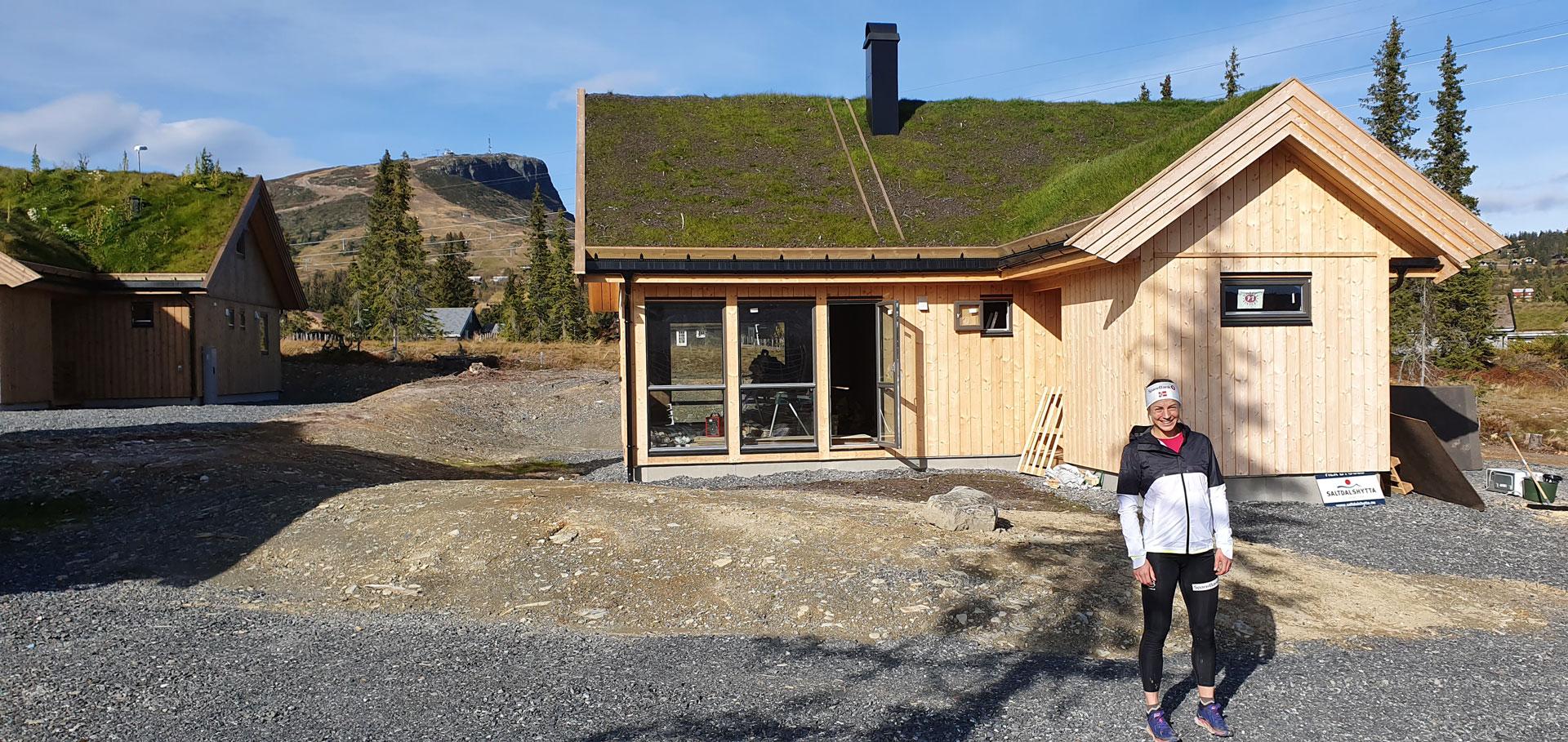 Astrid Uhrenholdt klar for hytte