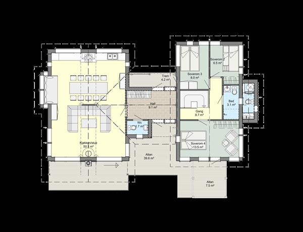 2. etasje A