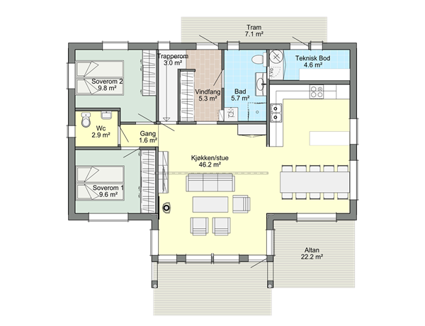 Hovedplan Solheim B